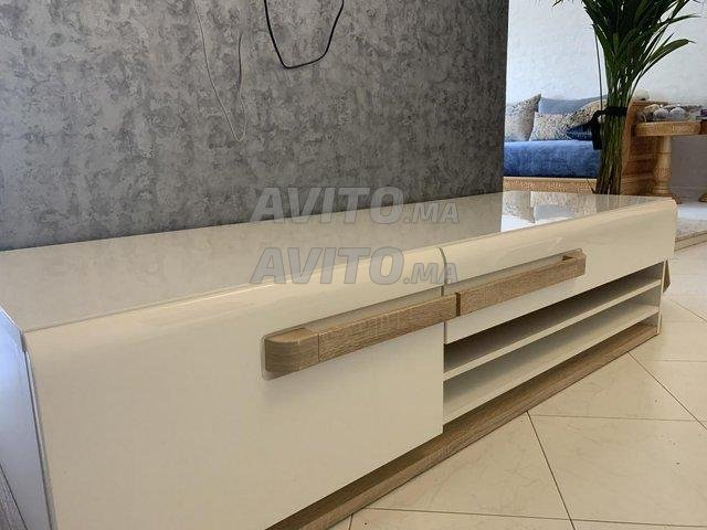 Meuble TV Neuf De Luxe avec un Design Italien - 6