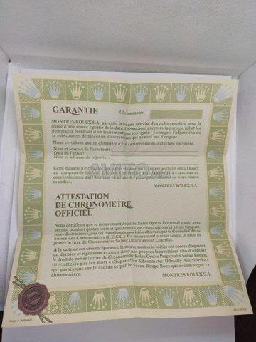 Boite Rolex avec Papier Original de garantie - 7