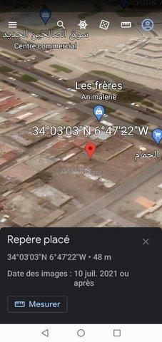 terrain 160m2 à salé  - 1