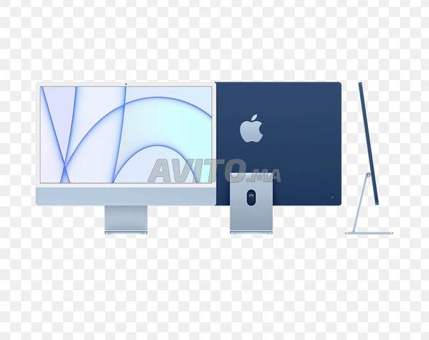 iMac 24  M1 16 256 /8G 500 Bleu - 1