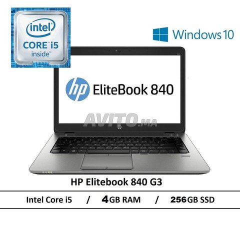 HP EliteBook 840 G3 I5-6300U/ 4Gb /256 Go SSD - 1
