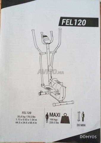 Vélo elliptique EL 120 - 3