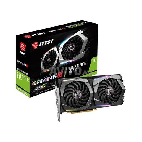 MSI GeForce GTX 1660 SUPER GAMING X  6 Go - 1