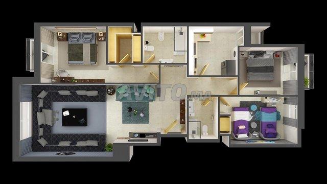 Superbe Appartement en Vente  en Résidence  - 2