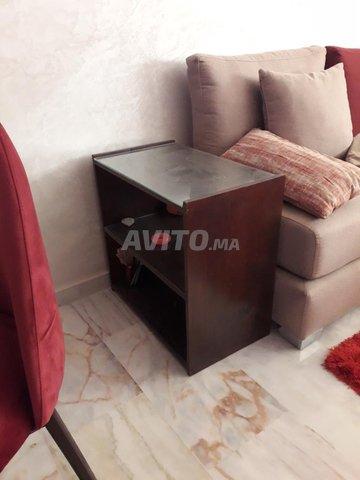 lit balançoire et maxi cosi et table d'appoint  - 1
