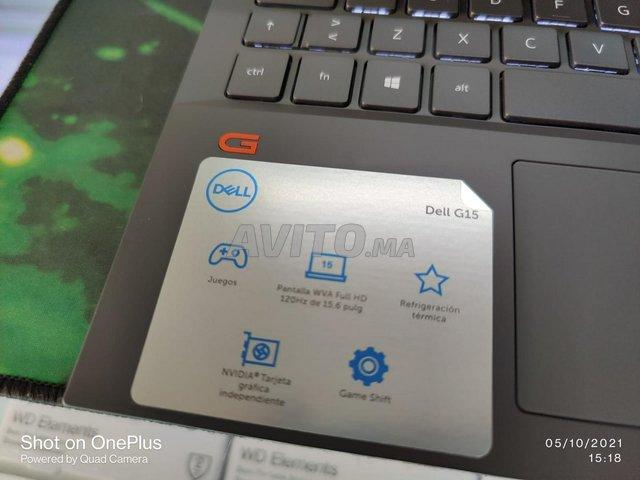 Dell G15 5510 i7 10TH 16Go 512Go SSD RTX3060 6Go - 8