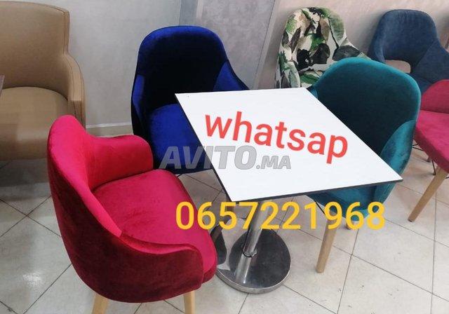 كراسي المقاهي chaise café  - 3