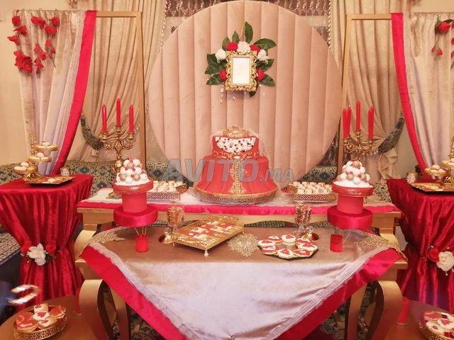 tables buffet avec materiel et accessoires - 2