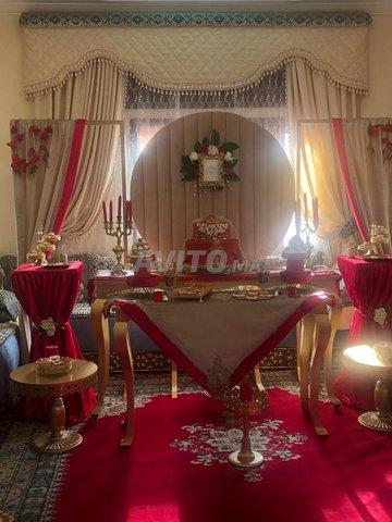 tables buffet avec materiel et accessoires - 3