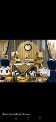 tables buffet avec materiel et accessoires - 4