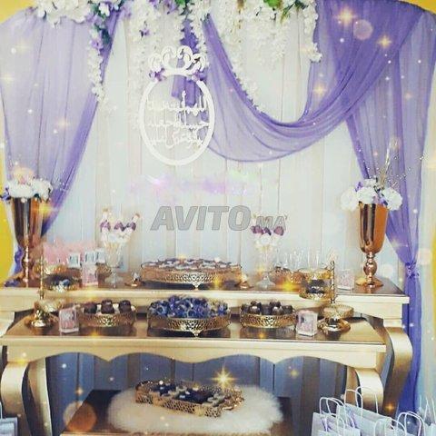 tables buffet avec materiel et accessoires - 5