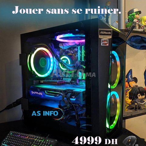 Promo pc Gaming Ryzen 3 3200G - Vega 8 - 1