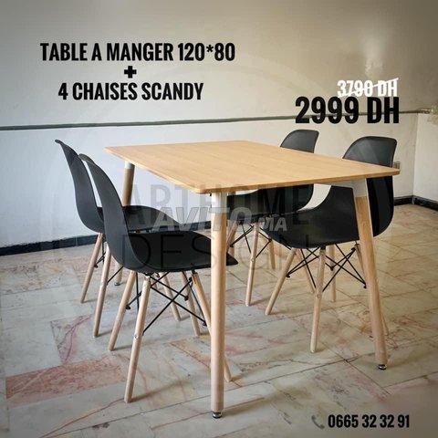 PROMO- TABLE A MANGER SCANDINAVE - 4