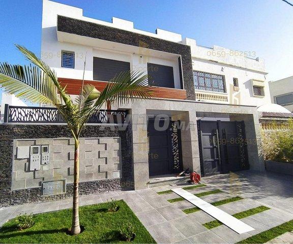 lot terrain villa 390m jumeleé 3 facade marrakech - 1
