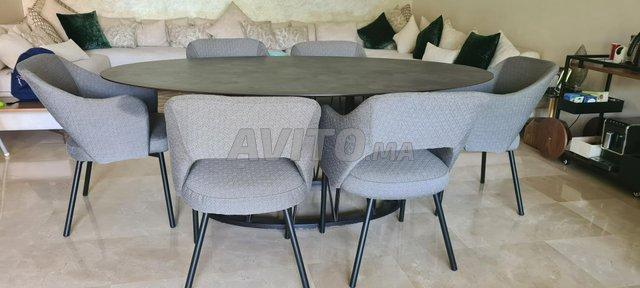 Table à manger 6 chaises - 1