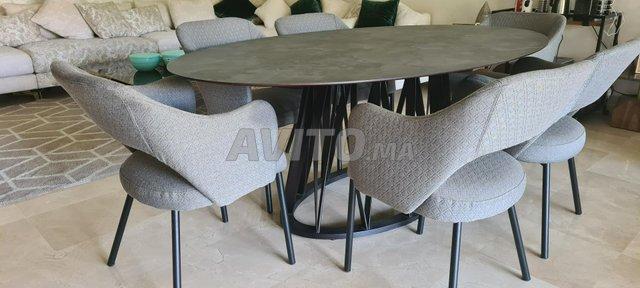 Table à manger 6 chaises - 4