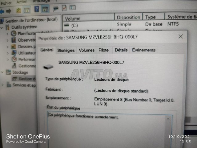 Lenovo Thinkpad L13 i5 10TH 8Go 256Go SSD 13.3PFHD - 5