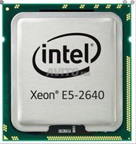 Intel Xeon Processor E5-2640  - 1