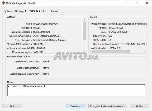 HP ZBook 32 GB 512 SSD 1To HDD NVIDIA Quadro  - 7