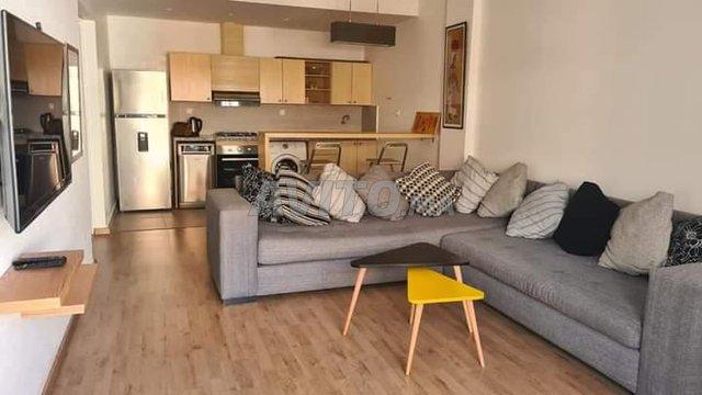 bel appartement  meublé  agdal rabat - 1