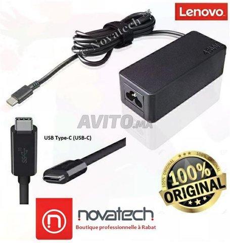 Charger Adapter (USB Type-C) Lenovo 45W Original - 1