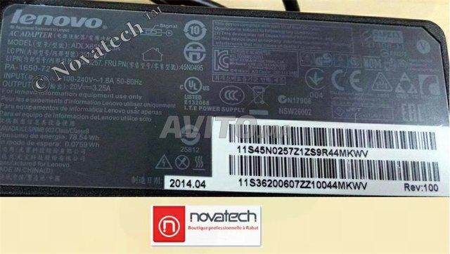 Adaptateur d'alimentation Lenovo 65W 20V-3.25A Ori - 4