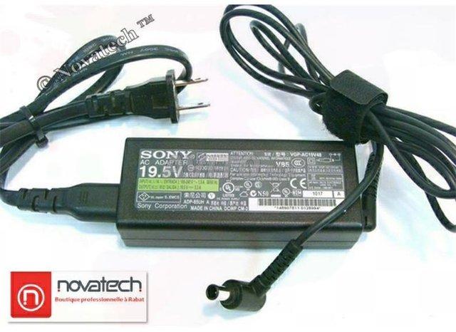 Chargeur Sony Vaio /90W-19V 4.74A Original - 5