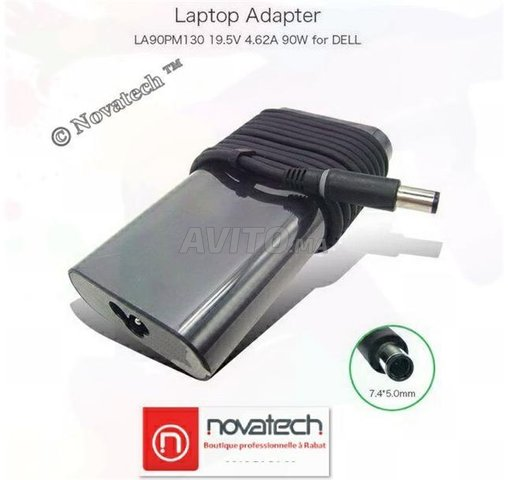 Adaptateur/Chargeur Dell Original19.5V-3.34A 65W - 5