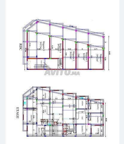 Lot terrain commercial 2 façades 215 m² R3 Socoma - 1