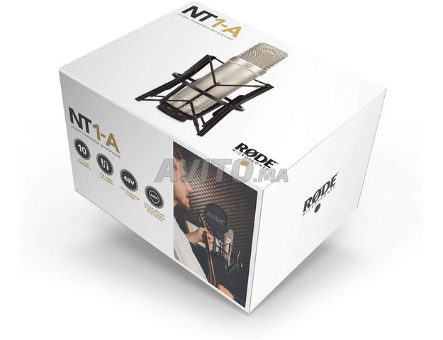 RODE NT1-A PACK MICROPHONE   CASABLANCA - 1