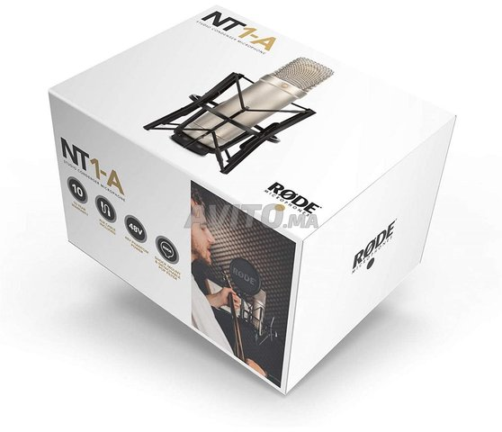 RODE NT1-A PACK MICROPHONE   CASABLANCA - 6
