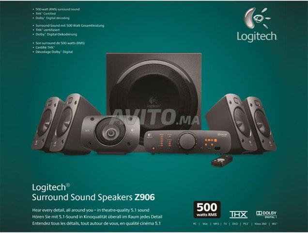 logitech speaker system z906 a a beauséjour - 1