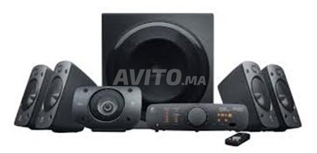 logitech speaker system z906 a a beauséjour - 2