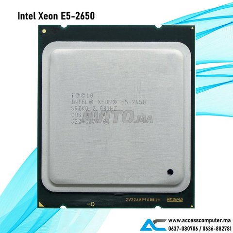 Intel Xeon E5-2650 - 1