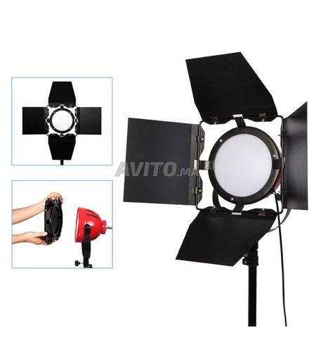 Nicefoto Lumière Continue Studio kit 3X 800W  - 1