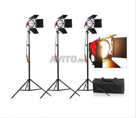 Nicefoto Lumière Continue Studio kit 3X 800W  - 4
