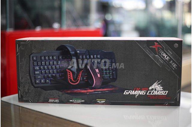 XTRIKE CM-404 GAMING COMBO Keyboard Mouse Headset  - 1