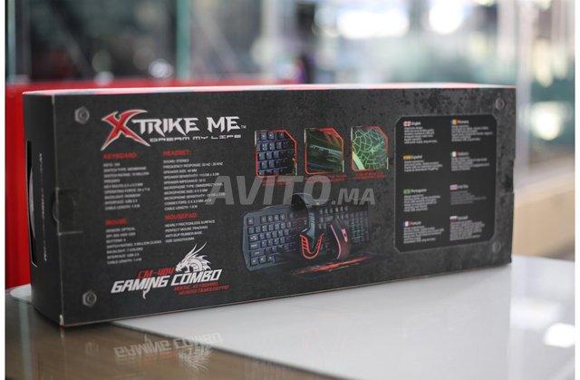 XTRIKE CM-404 GAMING COMBO Keyboard Mouse Headset  - 2