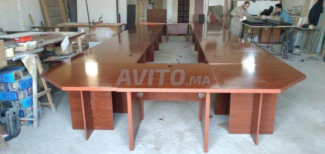 Tables de réunions ( table et chaises )  - 6