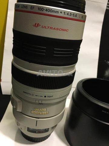 Téléobjectif Zoom Canon 100-400 mm etat  neuf - 3