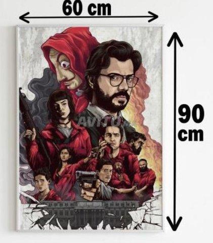 Poster casa de papel  - 1