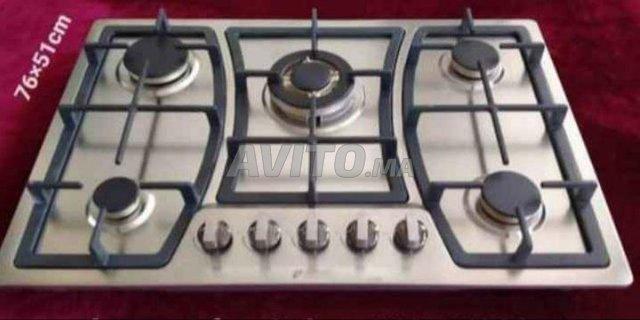 encastri 5 feux  inox venezai  - 1