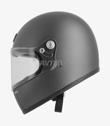 CASQUE ASTONE GT Retro Matt Grey & Black Helmet - 3