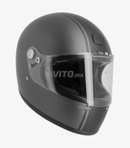 CASQUE ASTONE GT Retro Matt Grey & Black Helmet - 2