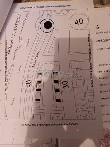 ارض من اجل انجاز مقهى و مطعم في شاطئ فم البير - 1