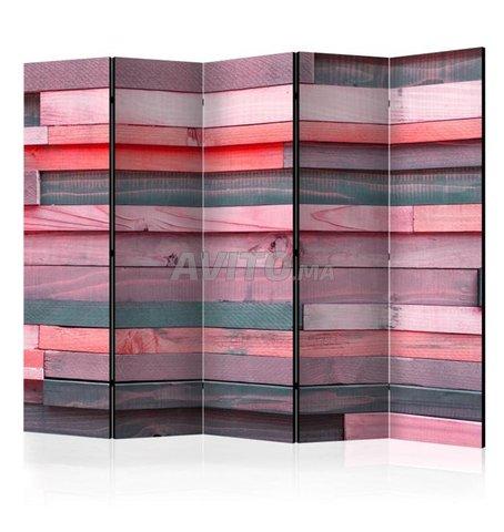 Paravent 5 Volets Paravent Pink Manor II - 2