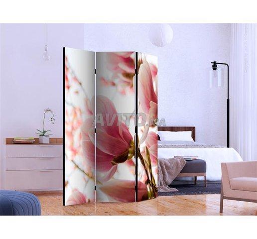 Paravent Rose Magnolia  - 1