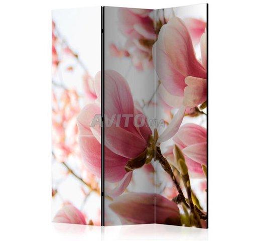 Paravent Rose Magnolia  - 2