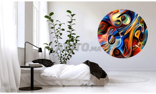 Tableau Abstract Circle - 1