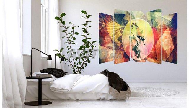 Tableau Oiseau abstrait - 1